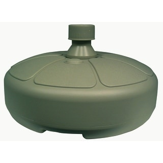 Adams 8129-01-3750 Resin Umbrella Base, Sage Green