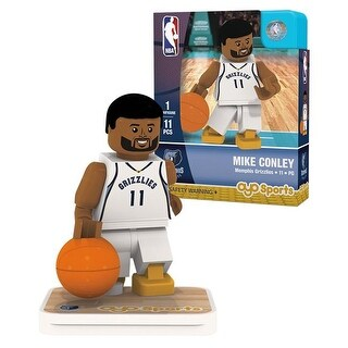 Memphis Grizzlies Mike Conley 0 Limited Edition Oyo Minifigure