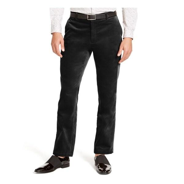 INC Mens Black Straight Leg Slim Fit Cotton Pants 34 Waist - 34 Waist. Opens flyout.