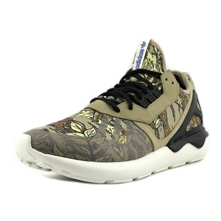 Adidas Tubular Runner K Men  Round Toe Synthetic Brown Running Shoe