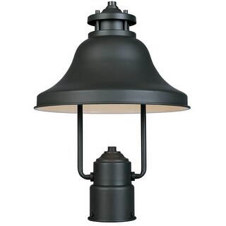 "Designers Fountain 31336-BZ 1 Light 11"" Post Lantern from the Bayport Collection"