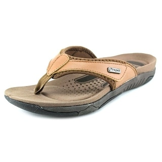 Propet Hartley Women Open Toe Synthetic Brown Thong Sandal