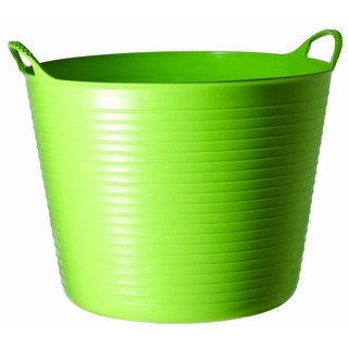 Tubtrugs SP26PST Flexible Storage Bucket, Pistachio, 6.9 gallon