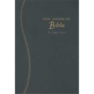 Nabre St Joseph Gift Edition Medium Size Bible - Blue Imitation
