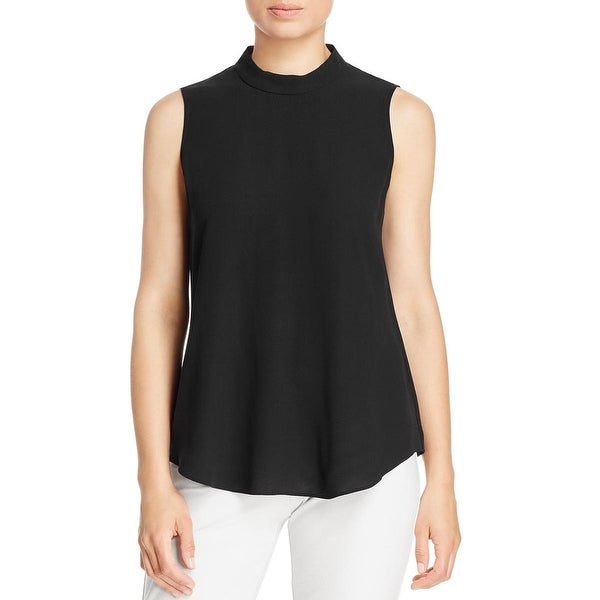 cd23024ea49a15 Shop Eileen Fisher Womens Tank Top Silk Crepe - Free Shipping Today ...