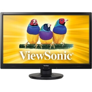 Viewsonic VA2446M-LED Viewsonic VA2446m-LED 24 LED LCD Monitor - 16:9 - 5 ms - Adjustable Display Angle - 1920 x 1080 -