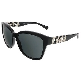 Coach HC8156Q 500211 Black Square sunglasses