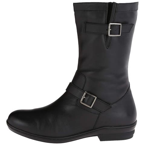 566f71d684d David Tate Womens Dorothy Leather Round Toe Mid-Calf Riding Boots