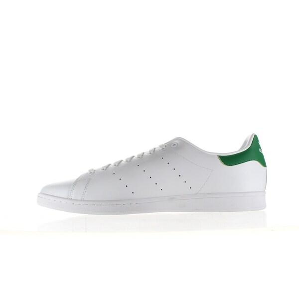 Adidas Mens Stan Smith White Fashion Sneaker Size 18 - Overstock ...