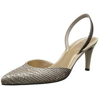 Stuart Weitzman Womens Sashmid Pumps LEather Textured - 5 medium (b,m)