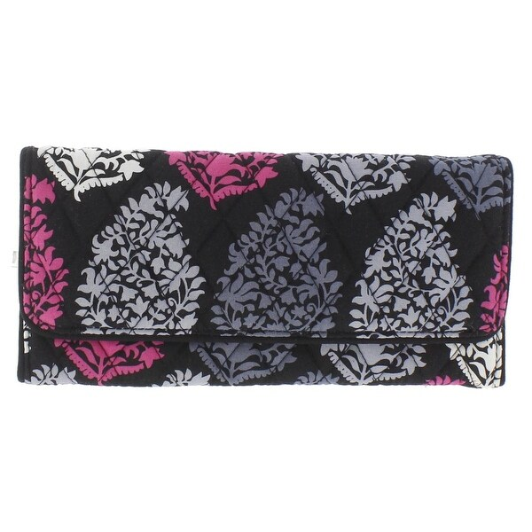 Vera Bradley Womens Trifold Wallet Quilted Printed - o/s