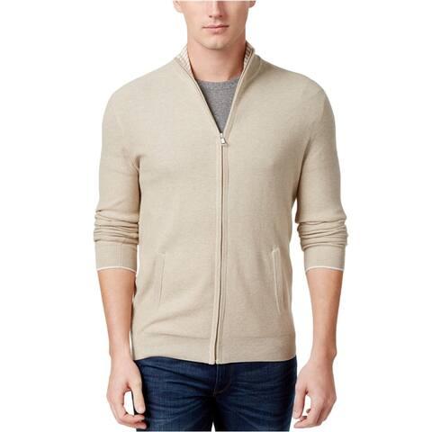 Club Room Mens Zip Cardigan Sweater