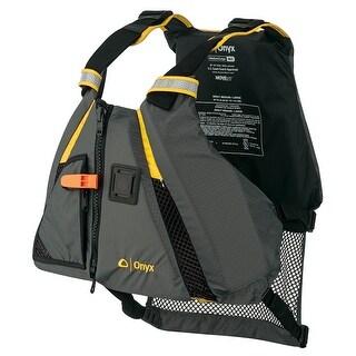 Onyx movement dynamic paddle sports life vest m/l yellow