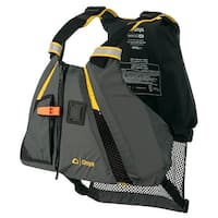 Onyx movement dynamic paddle sports life vest m/l yellow