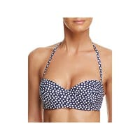 Tory Burch Womens Dots Underwire Swim Top Separates