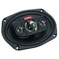 6 x 9 in. 4-Way Coaxial Car Speakers, 450W