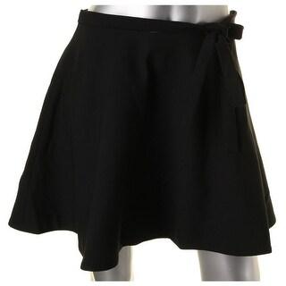 Elizabeth and James Womens Marina Flare Skirt Viscose Tie Bow