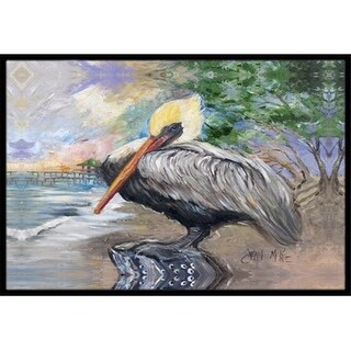Carolines Treasures JMK1019MAT Pelican Bay Indoor & Outdoor Mat 18 x 27 in.