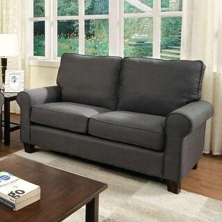 Shop Furniture Of America Dier Modern Linen Fabric