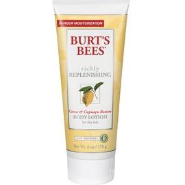 Burt's Bees Replenishing Body Lotion Cocoa & Capuacu Butters 6 oz