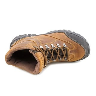 Propet Navigator Men Round Toe Leather Brown Hiking Boot