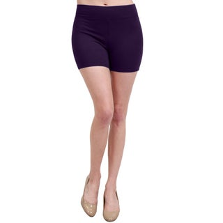 NE PEOPLE Womens Classic Plain Active Stretch Shorts Leggings (4 options available)
