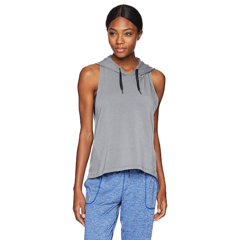 Under Armour Women's Modal Terry Vest, Steel Fade, XX-Large