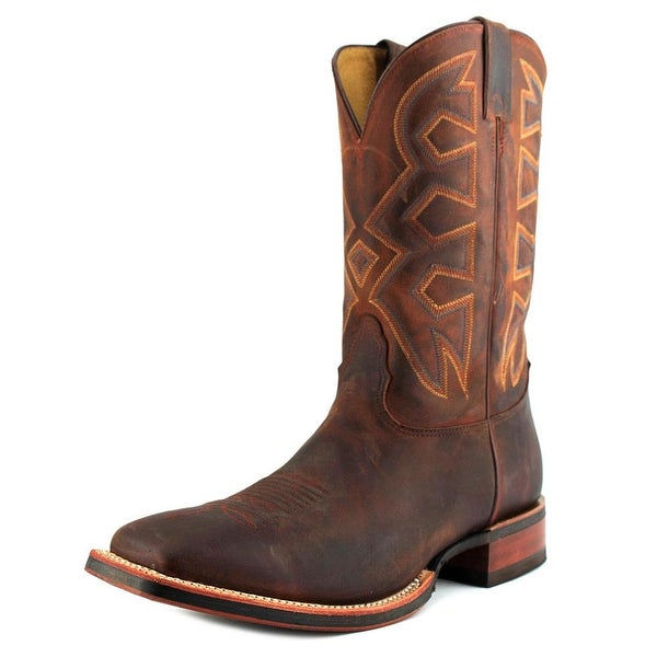 Nocona MD5302 Men  Square Toe Leather Tan Western Boot
