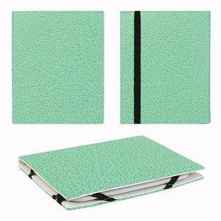 """JAVOedge Embossed Golden Ivy 6"""" Universal eReader Book Case for Nook Touch, Glowlight, Kobo, Touch, Kindle (Turquoise)"""