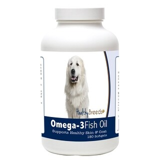 Healthy Breeds Great Pyrenees Omega-3 Fish Oil Softgels