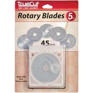 Truecut Rotary Blade Refills-45Mm 5/Pkg