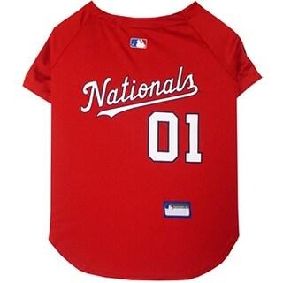 Washington Nationals Dog Jersey - Small
