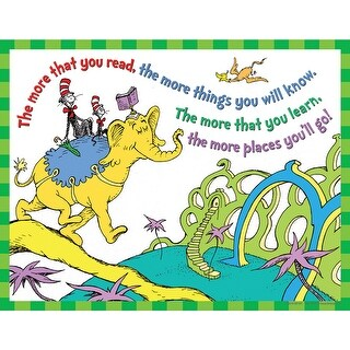 Dr Seuss The More You Read