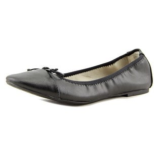 Rialto Sunshine Women  Round Toe Leather Black Flats