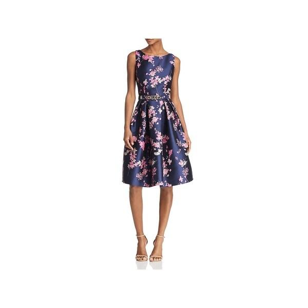f2e83802542cc Shop Eliza J Womens Midi Dress Floral Print Fit & Flare - Free ...