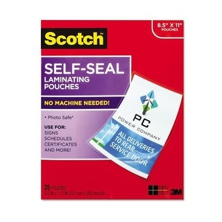 3M Mobile Interactive Solution - Self-Sealing Laminating Pouches Gloss