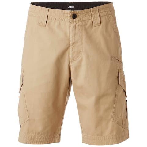 Fox Men's Slambozo Classic-Fit Cotton Cargo Shorts, 31, Dark Khaki