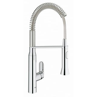 Grohe 31 380 K7 Pre-Rinse Kitchen Faucet with 2-Function Toggle Sprayer
