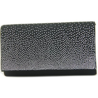 Lulu Townsend Lili Clutch Women Canvas Black Clutch
