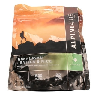 Alpine aire foods 60443 alpine aire foods 60443 himalayan lentils & rice serves 2