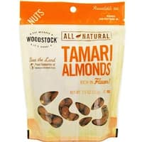 Woodstock Farms - Tamari Roasted Almonds ( 8 - 7.5 OZ)