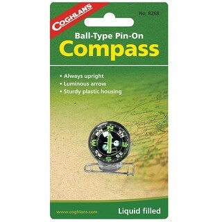 Coghlans 8268 coghlans 8268 pin-on compass, ball
