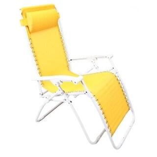 Jordan Manufacturing 3K-GRAVYELL Yellow Zero Gravity Chair - Yellow