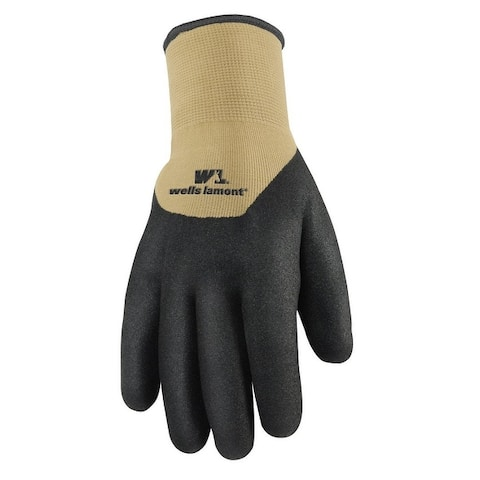 Wells Lamont 555M Thick Rubber Nitrile Coated Work Glove, Medium