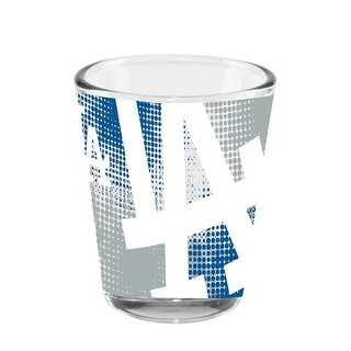Los Angeles Dodgers Full Wrap Shot Glass