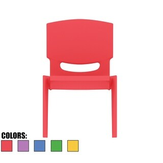 """2xhome - Red - Kids Size Plastic Side Chair 10"""" Seat Height Red Childs Chair Childrens Room School Chairs No Arm Arms Armless"""