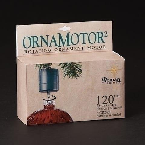 Pack of 3 Ornamotor Rotating Christmas Ornament Motor 2.5