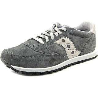 Saucony Jazz Lowpro Men Round Toe Synthetic Gray Sneakers