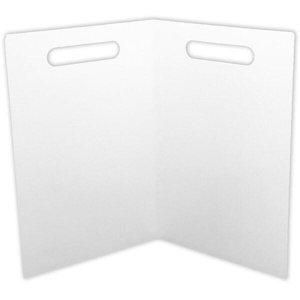 Folding Magnetic Center White