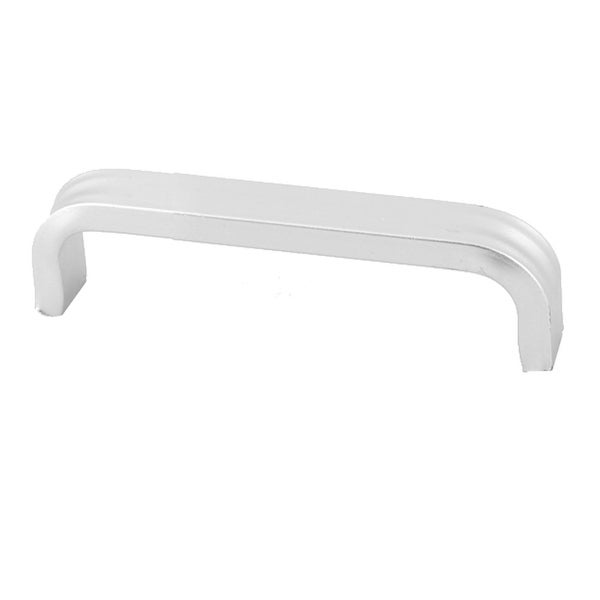 Home Living Room Aluminium Alloy Furniture Drawer Pull Handle Grip Silver Tone